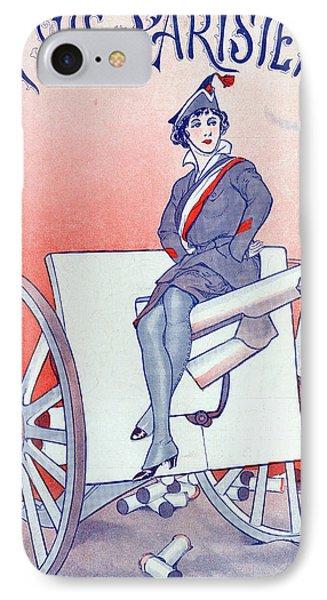 First World War Propaganda   Cover Of La Vie Parisienne IPhone Case