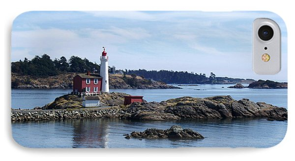 IPhone Case featuring the photograph Fisgard Lighthouse Shoreline by Marilyn Wilson