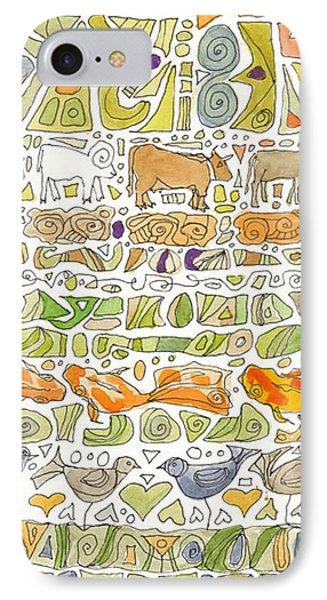Fish And Fowl Phone Case by Linda Kay Thomas