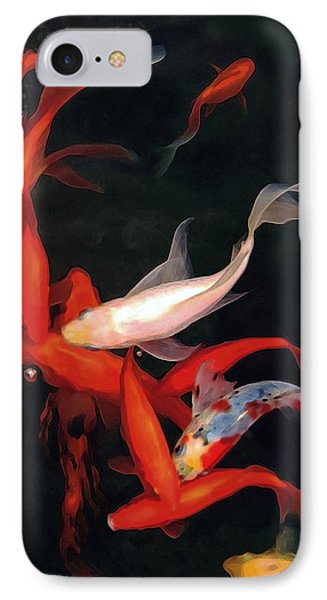 Fish Ballet IPhone Case by Dale   Ford