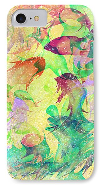 Fish Dreams Phone Case by Rachel Christine Nowicki
