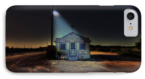 Fish Market Cape Cod IPhone Case by Dapixara Art