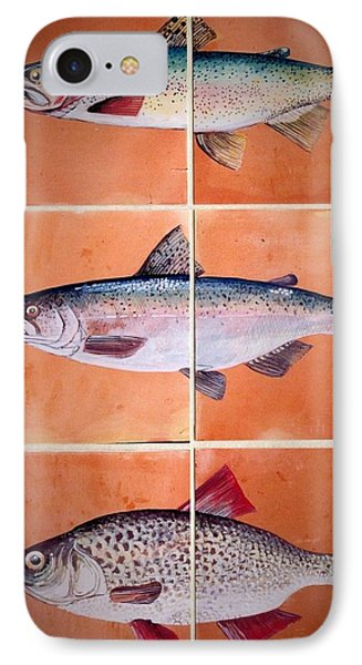 Fish Mural IPhone Case by Andrew Drozdowicz