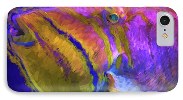 IPhone Case featuring the photograph Fish Paint Dory Nemo by David Haskett