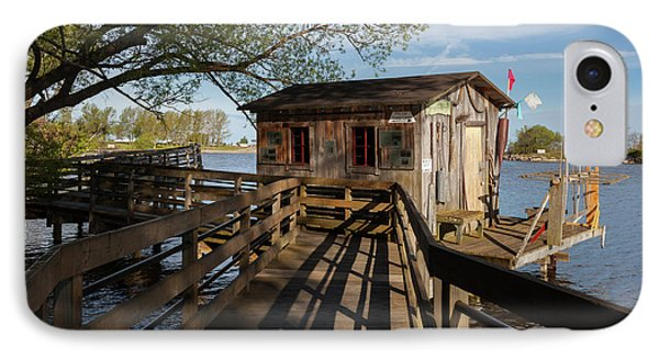IPhone Case featuring the photograph Fish Shack by Fran Riley