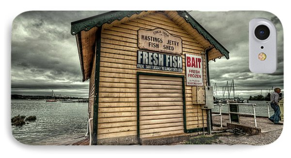 Fish Shed Phone Case by Wayne Sherriff