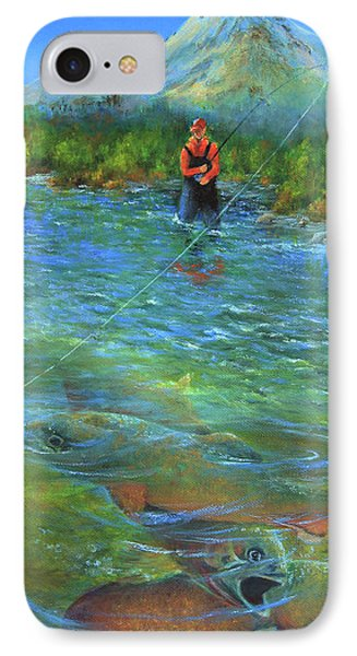 Fish Story IPhone Case by Jeanette French
