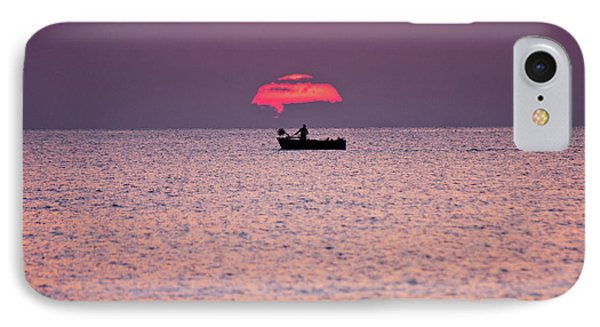 IPhone Case featuring the photograph Fisherman by Bruno Spagnolo