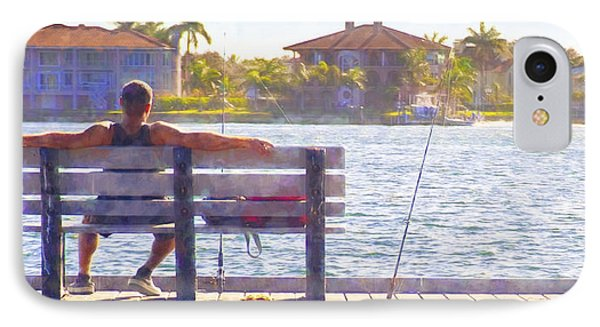 Fisherman Pass A Grille Florida IPhone Case by Glenn Gemmell