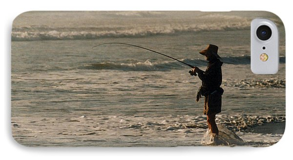 IPhone Case featuring the photograph Fisherman by Steve Karol