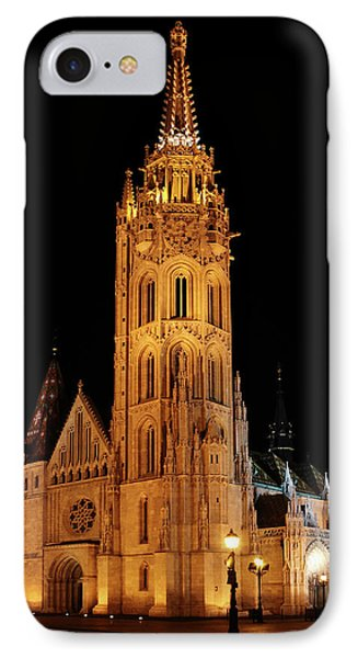 IPhone Case featuring the digital art  Fishermans Bastion - Budapest by Pat Speirs