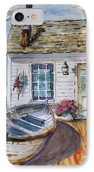 Fisherman's Cottage IPhone Case by P Maure Bausch