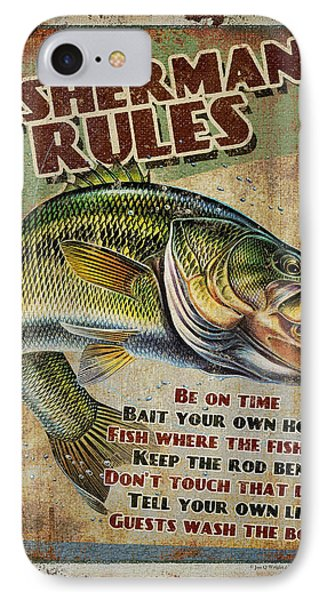 Fisherman's Rules IPhone Case