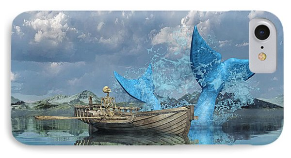 Fisherman's Tale IPhone Case by Betsy Knapp