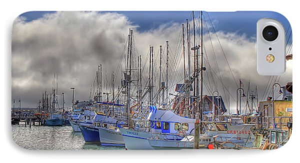 IPhone Case featuring the photograph Fisherman's Wharf by Donna Kennedy