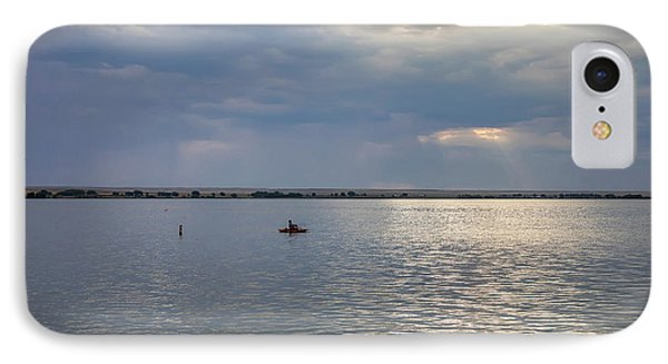 IPhone Case featuring the photograph Fishermens Morning by James BO Insogna