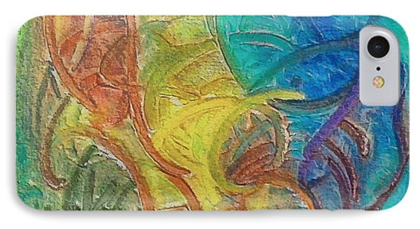 IPhone Case featuring the mixed media Fishes by Dragica  Micki Fortuna