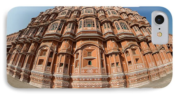 IPhone Case featuring the photograph Fisheye View Of Hawa Mahal by Yew Kwang