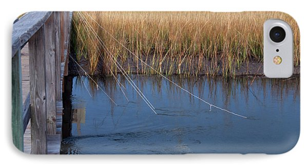 Fishin' Lines IPhone Case by Kay Lovingood