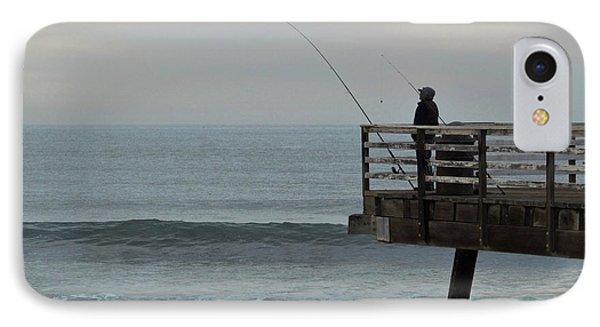 Fishin IPhone Case by Marnie Patchett