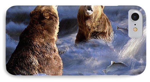 Fishing Alaska IPhone Case