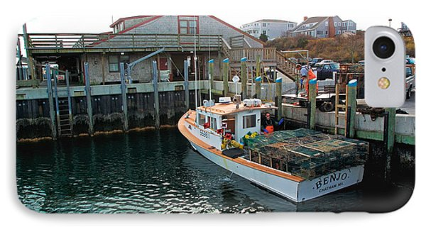 Fishing Boat At Chatham Fish Pier IPhone Case