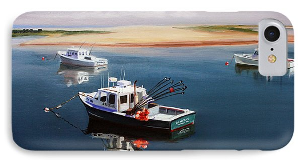Fishing Boats-cape Cod IPhone Case