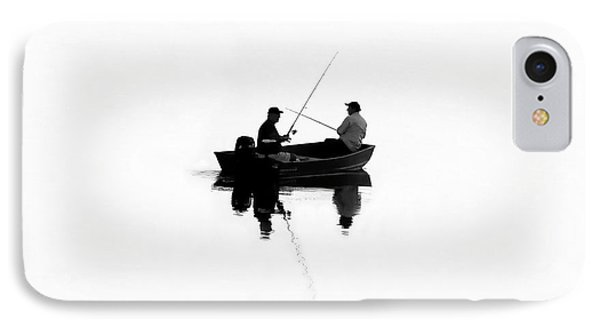 Fishing Buddies IPhone Case by David Lee Thompson