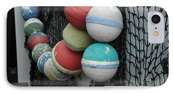 IPhone Case featuring the photograph Fishing Buoys by Nancy Taylor