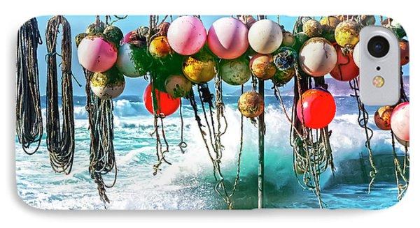 Fishing Buoys Phone Case by Terri Waters