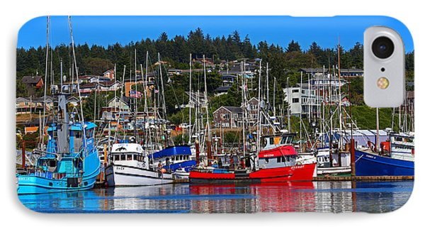 Fishing Fleet At Newport Harbor IPhone Case by Marty Fancy