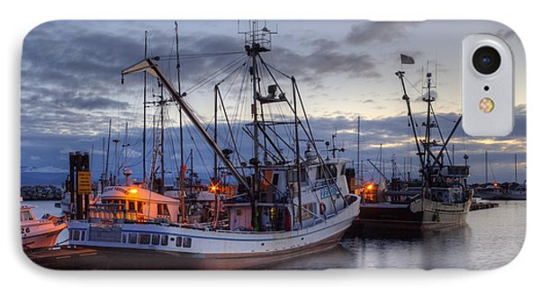 Fishing Fleet IPhone Case by Randy Hall