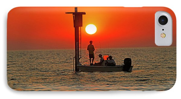 Fishing In Lacombe Louisiana IPhone Case