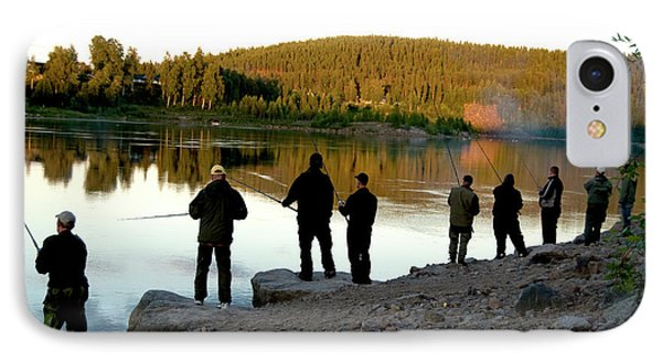 Fishing In Sweden IPhone Case