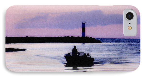 IPhone Case featuring the photograph Fishing Lake Ontario  Lake Ontario  by Iconic Images Art Gallery David Pucciarelli