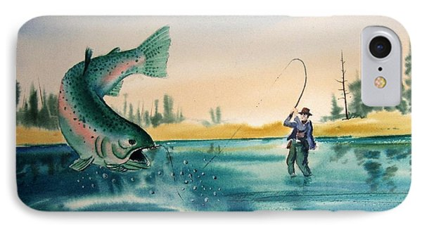 Fishing Montana Phone Case by Kevin Heaney