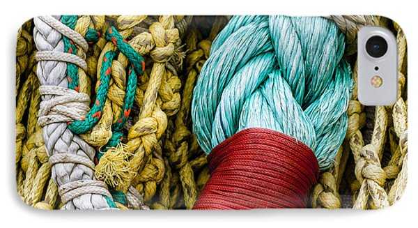 Fishing Net Detail IPhone Case by Carol Leigh