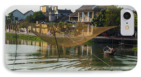 Fishing Net In Vietnam IPhone Case by Rob Hemphill