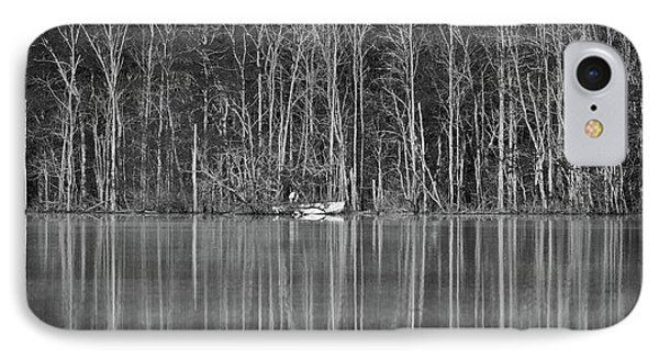 IPhone Case featuring the photograph Fishing Norris Lake by Douglas Stucky