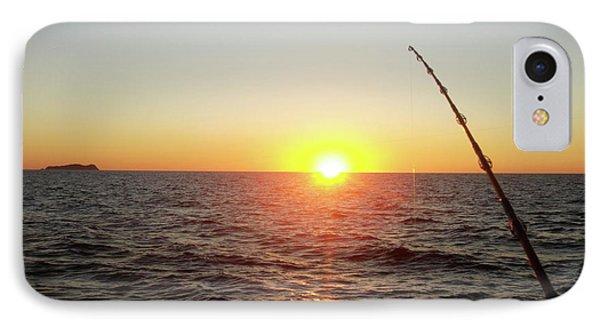 Fishing Pole Taken On 35mm Film IPhone Case