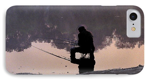 Fishing IPhone Case by R Thomas Berner