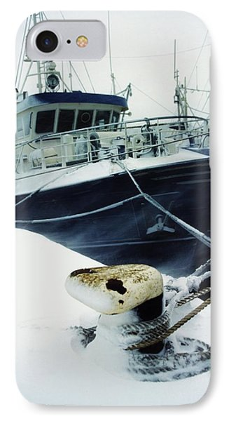 Fishing Trawler, Howth Harbour, Co IPhone Case