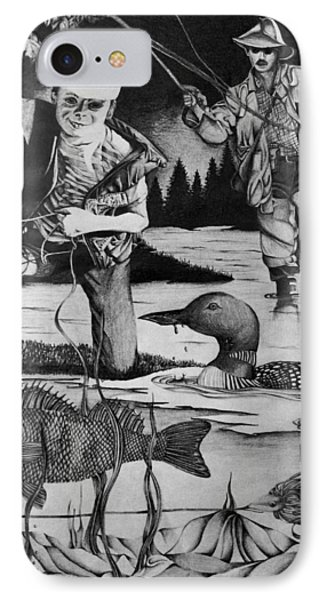 Fishing Vacation IPhone Case by Bruce Bley