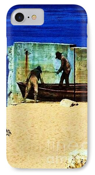 IPhone Case featuring the photograph Fishing by Vanessa Palomino