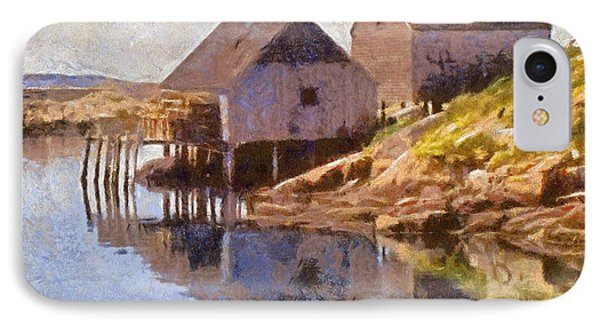 Fishing Wharf Phone Case by Jeffrey Kolker