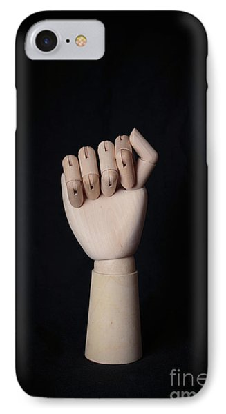 IPhone Case featuring the photograph Fist by Edward Fielding
