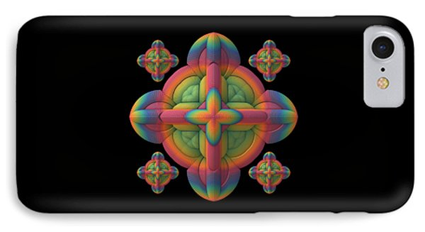 IPhone Case featuring the digital art Fit To A Tee by Lyle Hatch