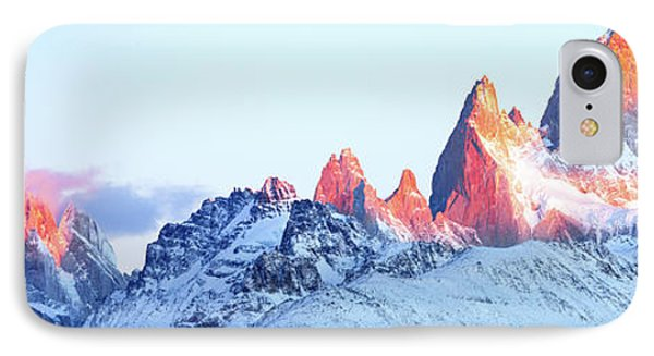 IPhone Case featuring the photograph Fitz Roy Peak by Phyllis Peterson