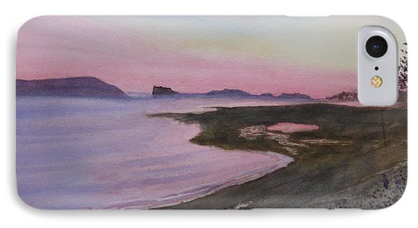 IPhone Case featuring the painting Five Islands - Bay Of Fundy by Joel Deutsch