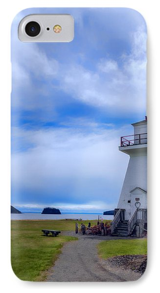 Five Islands Lighthouse IPhone Case by Ken Morris